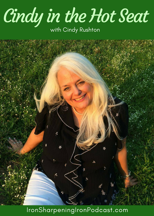 Cindy Rushton is in the Hot Seat on this podcast!