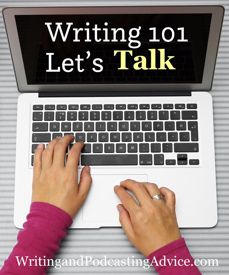 writing talk