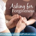 asking forgiveness