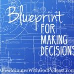 blueprint making decisions