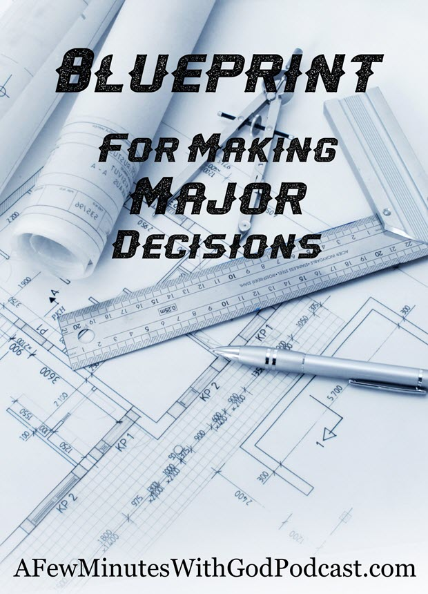 blueprint major decisions