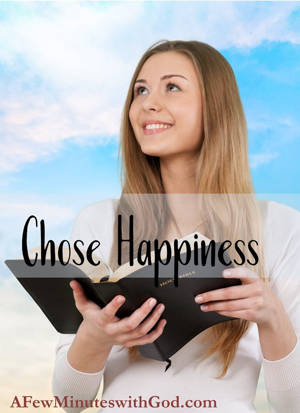chose happiness