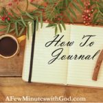 Journal How To