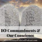 10 Commandments Conscience Check