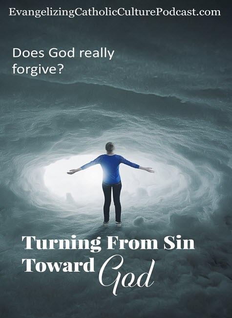 turning from sin toward God