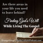 God's Will While Living The Gospel | Finding God's will in our lives is found when looking at the Gospels. #podcast #christianpodcast #catholic #findingGodsWill