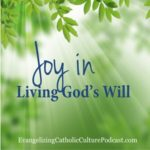 Joy In Living God's Will | The joy in living God's will can be found with these steps. #christian #christianpodcast #podcast #catholic