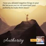 Authority – Part 2