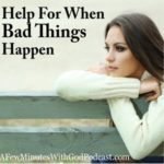 Thanking God | Help For When Bad Things Happen | #podcast, #christianPodcast