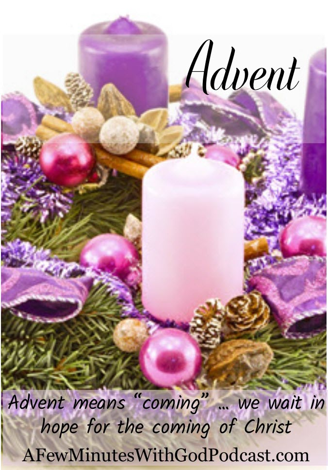 Advent | When we celebrate Advent, we are waiting for the coming of the Lord. Advent means coming in Latin. | #podcast #homeschoolpodcast #homeschool
