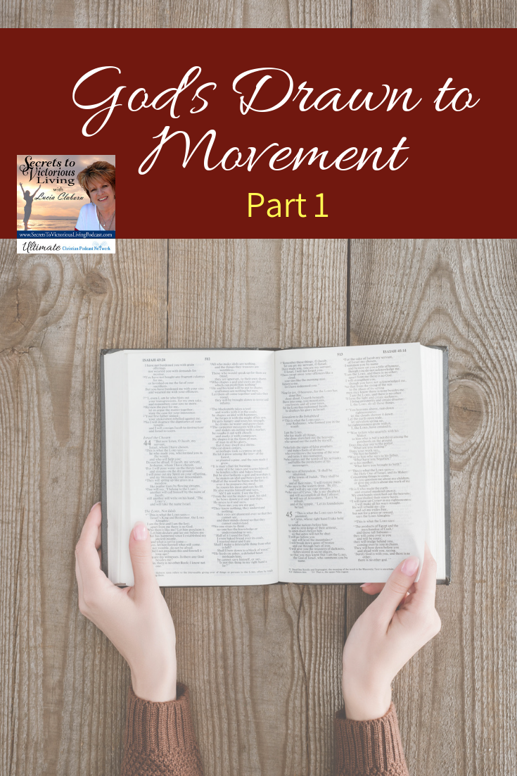 """Join Lucia as she gives you permission to get out of your box of limitations! She begins a new series entitled, """"God's Drawn to Movement."""""""