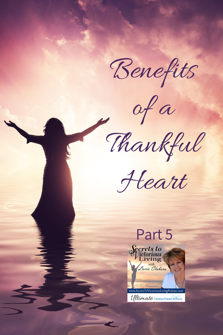 Lucia shares how to pray, be thankful and praise God beforehand so you can have a manifestation of your heart's desire.
