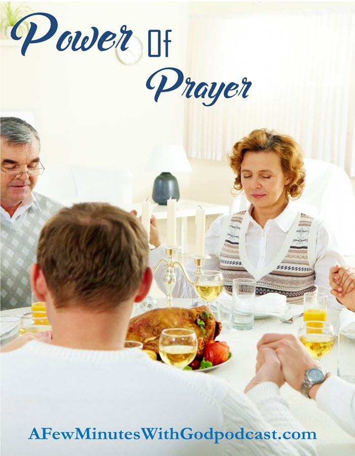 Power of Prayer | I recently attended a prayer breakfast where I heard an amazing testimony to the power of family prayers. The prayers of a family or friends for a particular person are so powerful. In this episode, I want to share with you some of what I learned and the power of prayers for your family. | #podcast #christianpodcast