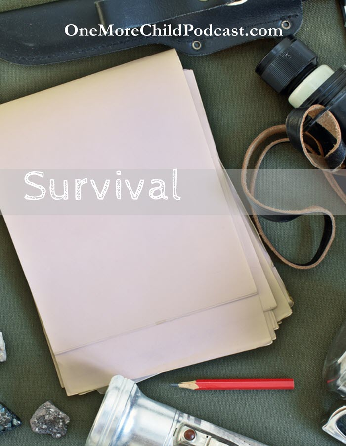 "Survival | When I think of the word survival I think of the term, ""Survival of the fittest."" We survive life's curves in different ways. #podcast #christianpodcast #faith"