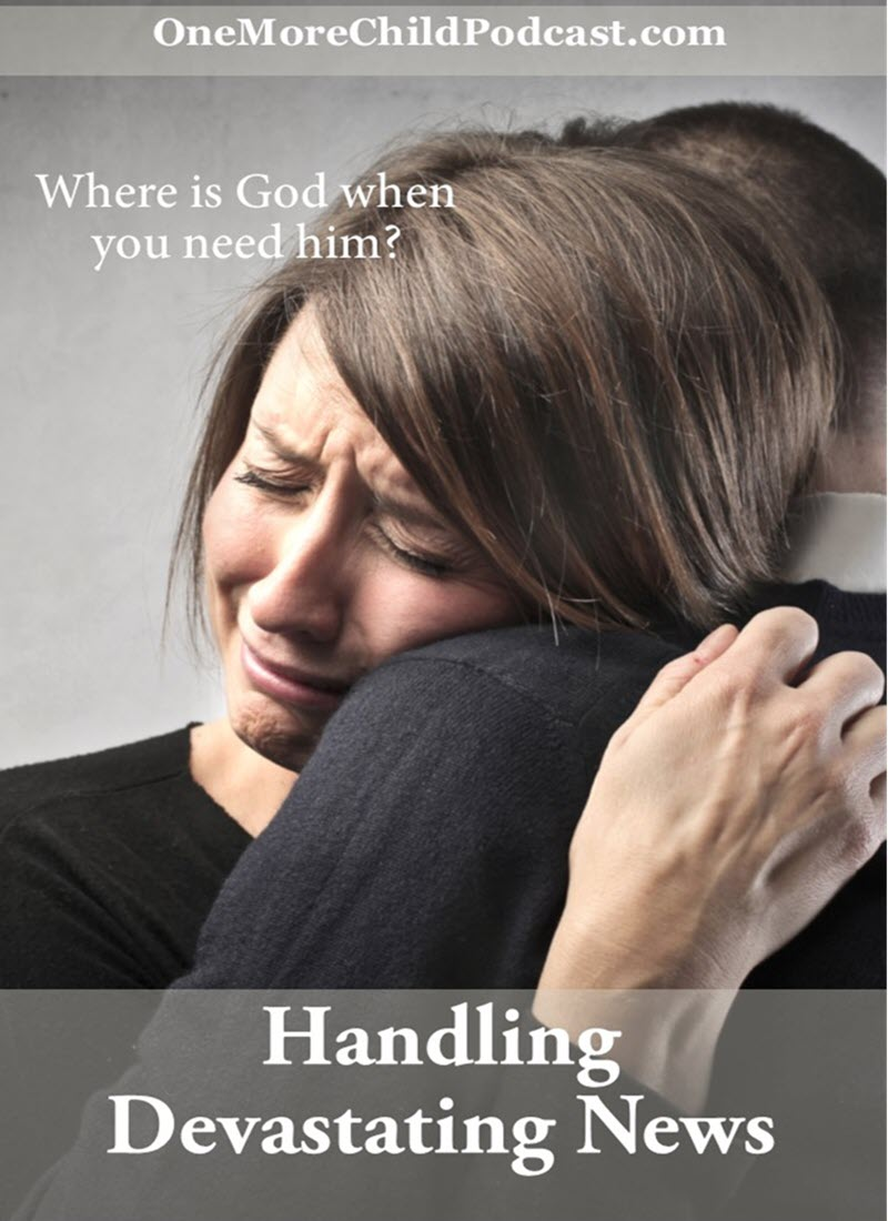 Handling Devastating News | In life, at some point we must deal with handling devastating news - in this episode, I share moments from life and lessons I learned and the hope we all have that today's devasting news is our future praise report! | #christianpodcast #podcast