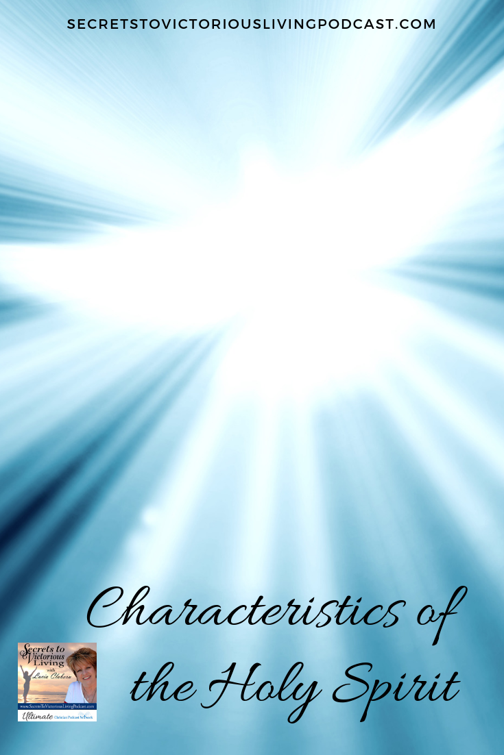 Lucia continues her series on Holy Spirit and shares that Holy Spirit is a person and describes His characteristics. #podcast