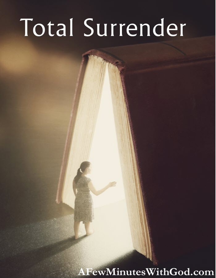 Total Surrender | Total surrender is easy, right? Well, as a Christian, it should be easier, in theory at least. In this podcast, we will discuss a way that is helpful to let go and let God. | #podcast #christianpodcast