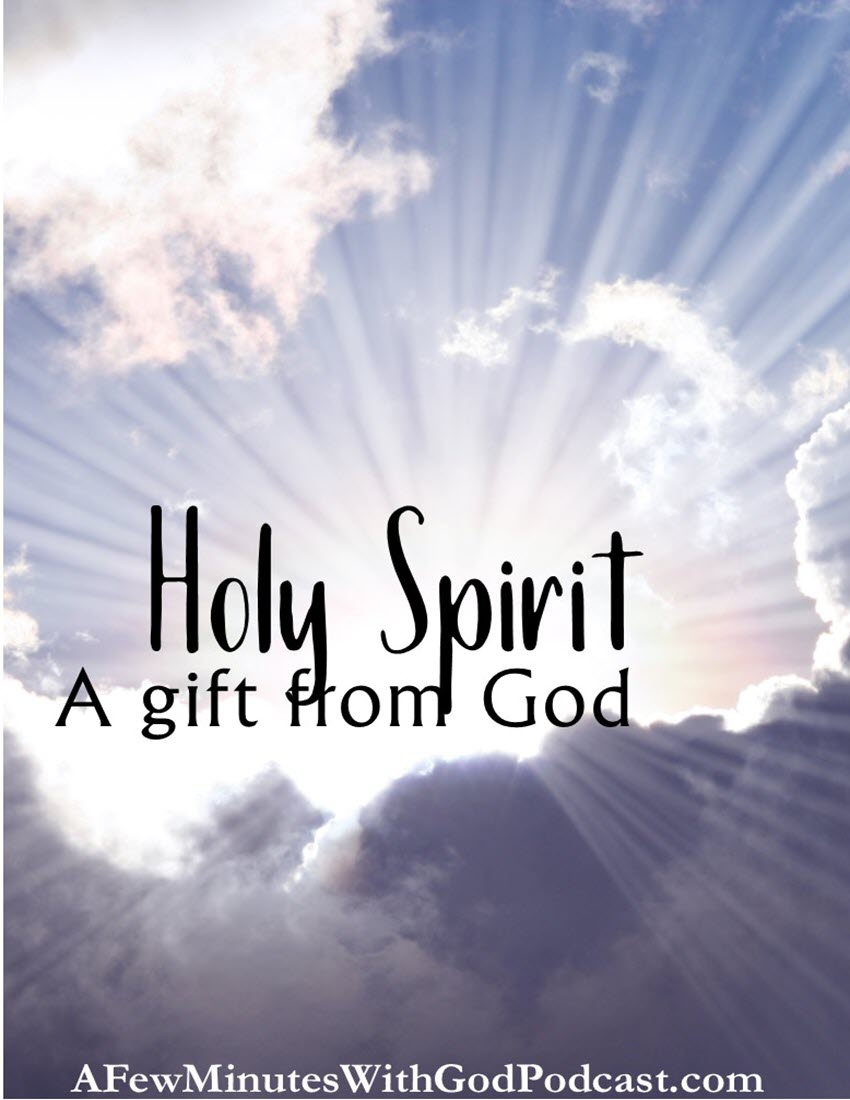 Holy Spirit | The Holy Spirit is one of the greatest gifts from God! All we have to do is look at the Gospels and rejoice that God did not leave us alone, He sent His Spirit to be with us always. | #christianpodcast #podcast #faithinGod