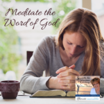 Join Lucia, and special guest Mrs. Donna Dudley, as they discuss meditation from a positive view, what meditating the Word of God means, and the benefits and results of meditating the Word. #Christian #Podcast