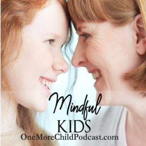 Mindful Kids Being present for your kids and having mindful kids is the topic of today's podcast. The last episode of One More Child Podcast we discussed mindfulness and being present. | #podcast #christianpodcast