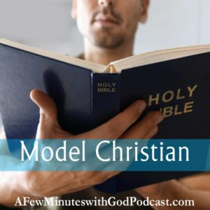 Model Christian | Being a model Christian requires responsibility, but what does a model Christian look like? Is it someone who talks the talk or walks the walk. As a Christian, you can no longer act like a heathen and there is a standard to uphold – or is there? | #podcast #christianpodcast