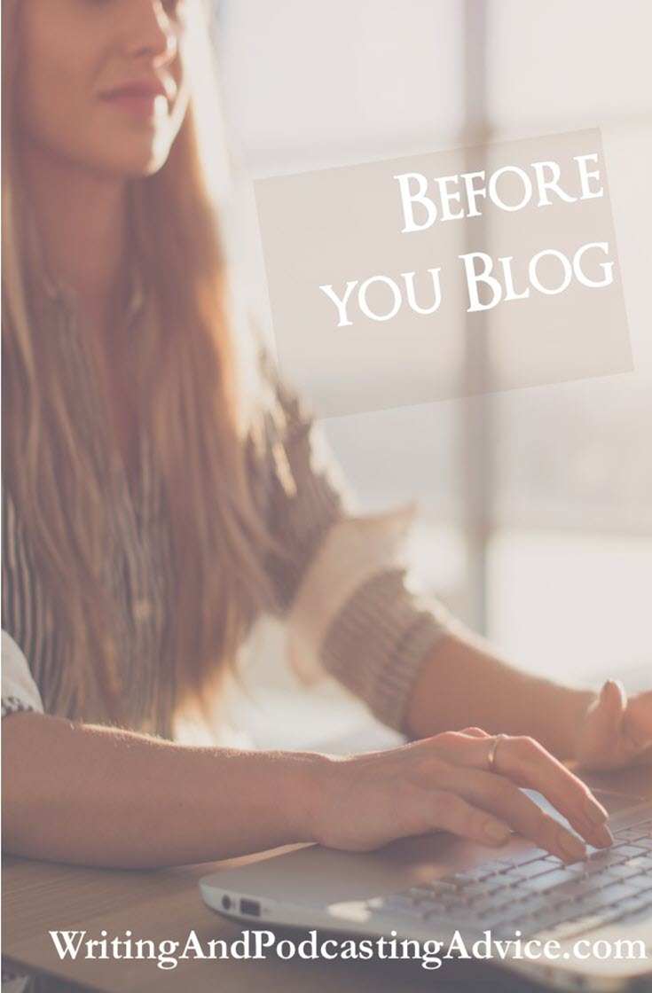Blogging | Blogging is one of those online platforms that takes very little work these days to set up and begin. It is used as a platform for authors, podcasters, and people who believe they have a message that they want to share. In this episode, we will examine blogging and how this can help your online presence. | #podcast #writing #podcasting #blogging