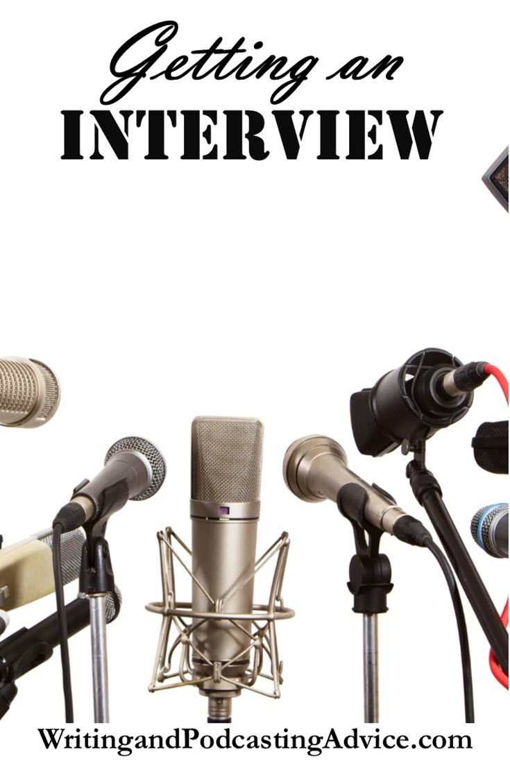 Interview | Want an interview? Well, if you are an author, have a service or sell a product this is a great way to let people from all over the world know about what you have to offer. | #podcast #writingandpublishing
