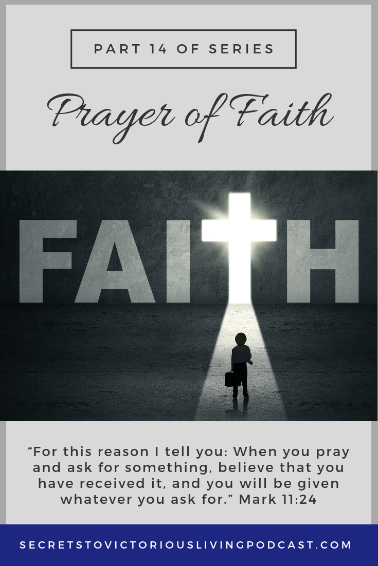 Join Lucia as she talks about how to put your faith into operation through the prayer of faith.