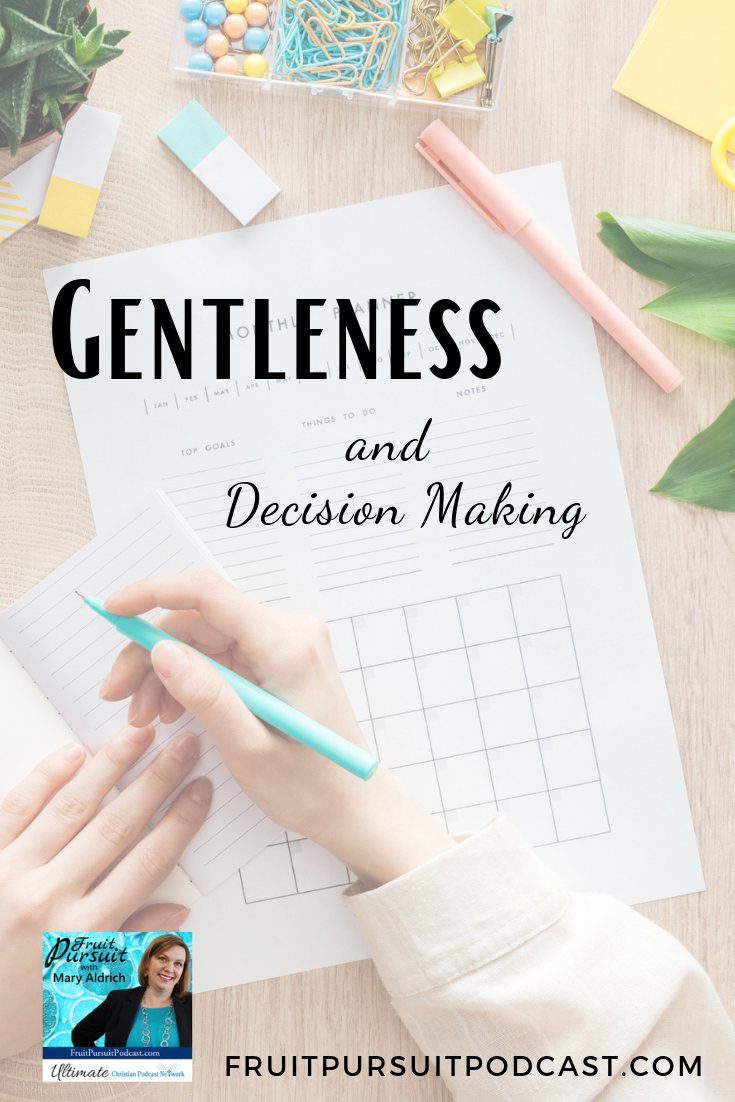 How confident and easy does it feel to you to make decisions?  Today: 3 ways to experience gentleness in decision making. #podcast