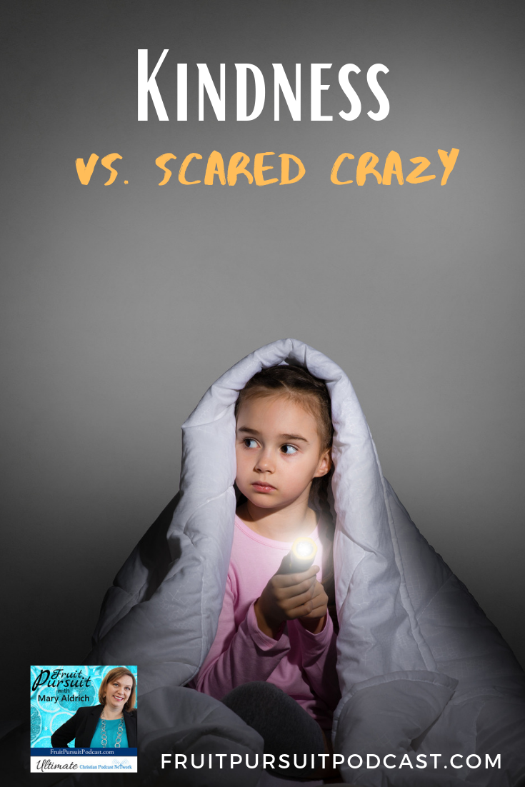 Today we are covering two ways we scare ourselves to death and why it's so unnecessary. #podcast #christian