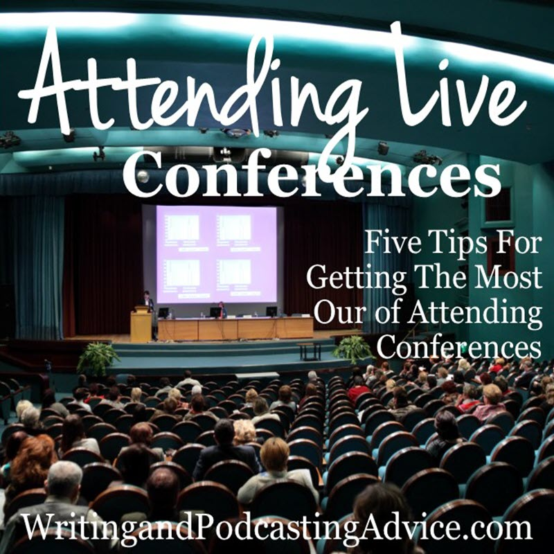 "Conferences | With so much information online should you attend an ""in person"" conferences? In this episode, Felice Gerwitz shares how a recent and past conferences have taught her so much she can implement today. 