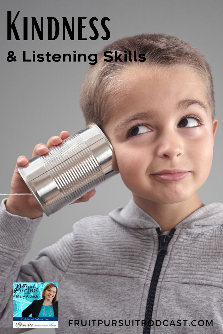Today, we're covering some key ways to up your listening skills in your family as a way to show kindness to others as well as yourself, by increasing your ability and frequency to have amiable conversations.