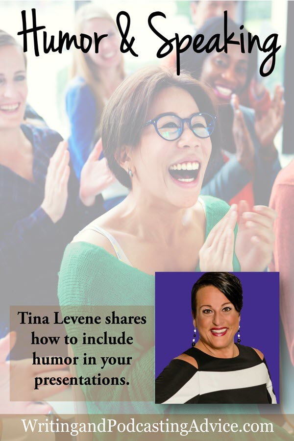 Humor and Speaking | Are you funny? Do you use humor and speaking as a combination that helps your audience engage and become captivated with your teaching or subject? | #podcast #christianpodcast #tinalevene