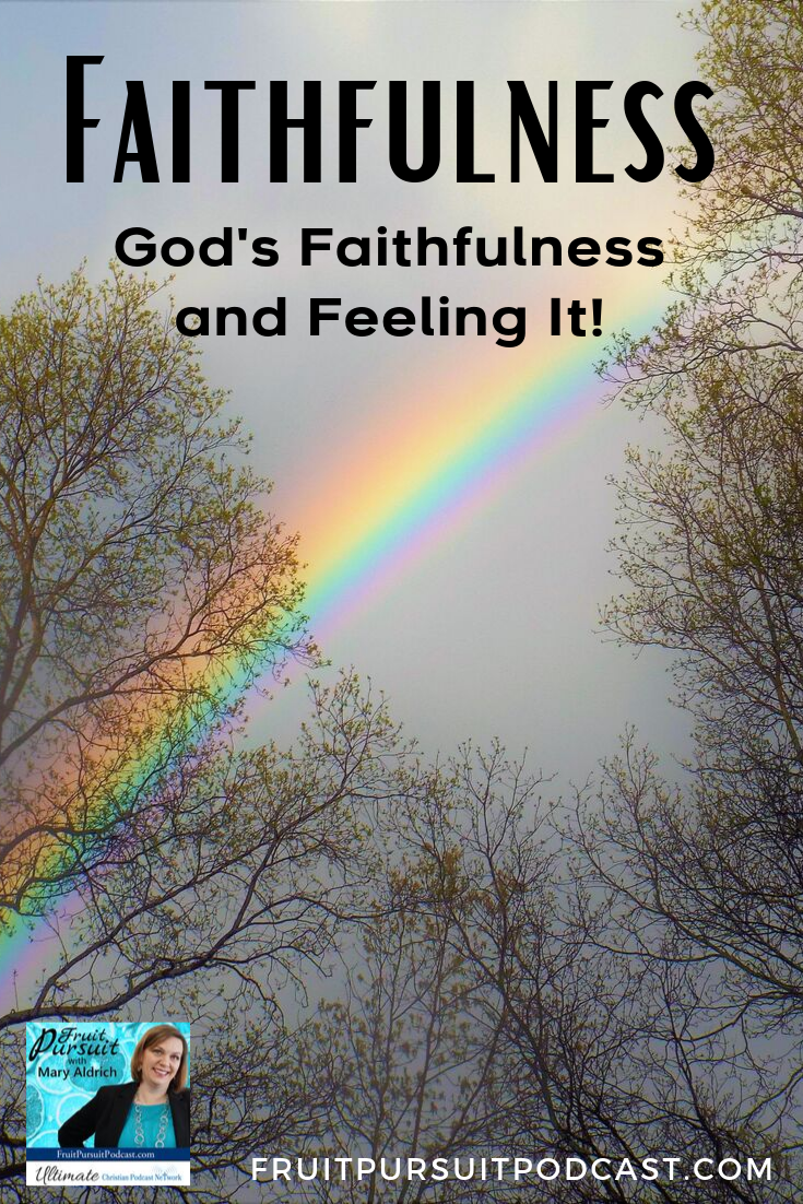 Are you believing the truth about God's Faithfulness? Are you setting up yourself for success to actually feel his faithfulness? Join Mary as she covers 2 aspects of faithfulness!