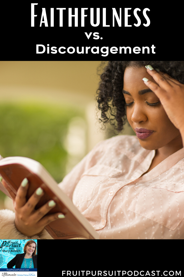 How do we actually break free from a cycle of discouragement? Why do we let it go on so long? Today we'll discuss three keys about discouragement and 4 ways to make it go away!