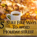 Season of Hope | Five Sure Fire Ways To Avoid Stress | We are approaching a season of hope! Here are five things to really help you to reduce the stress, make a quick plan and get rid of those things that cause you to feel overwhelmed. Get ready to enjoy any season, with these five easy to answer questions. | #podcast #holidaystress #holidayplanning
