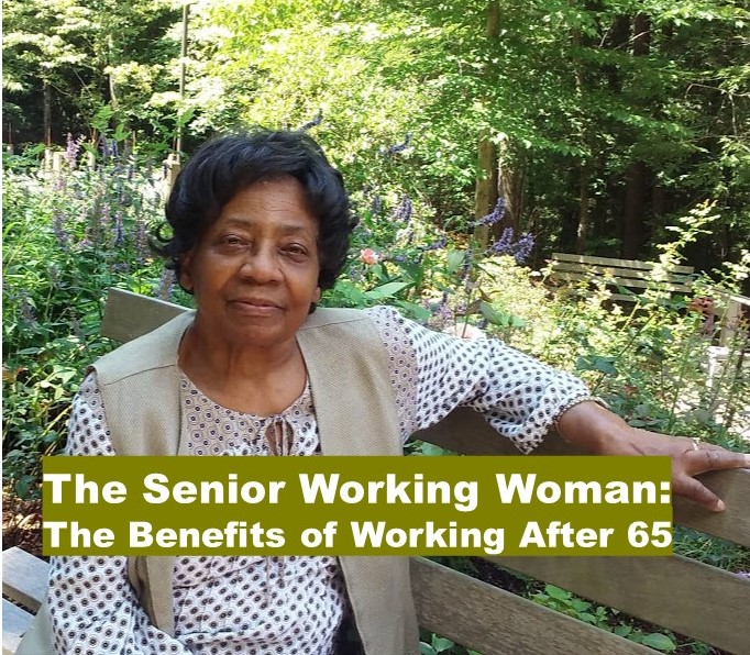 Senior Working Woman