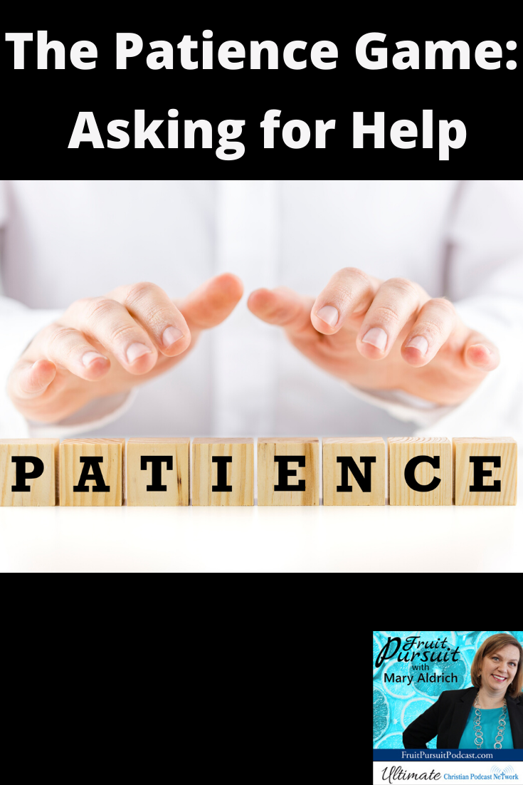 In our Mastermind this month, we are discussing creative ways to find support while we are waiting it out for various needs to be met. Remember that part of patience IS making requests.  Not only of God, but also of others.