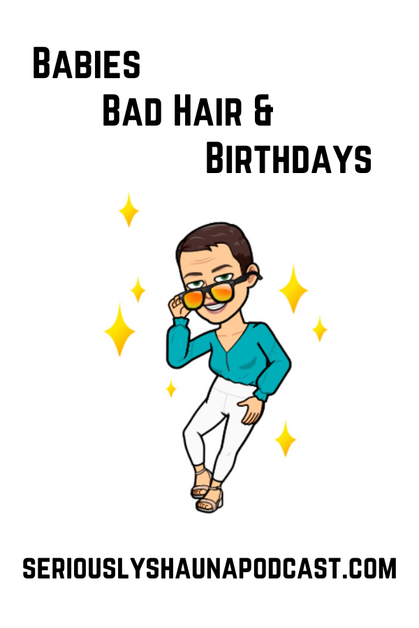 We will discuss yet another terrible hair experience and how you can avoid them in the future. Don't be rash with your quarantine hair! We will also discuss middle children and how the often get lost in the fray, even on their birthdays!