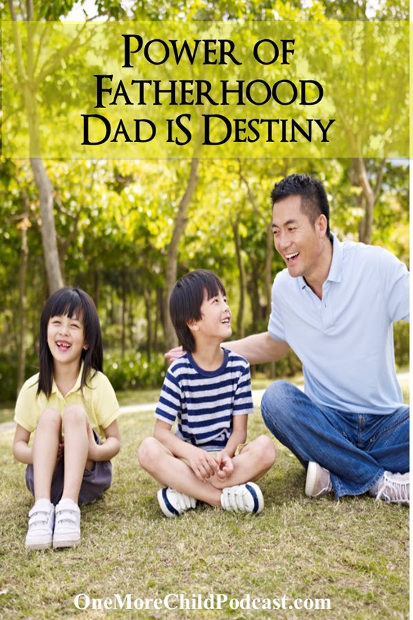 Power of Fatherhood| We forget that the power of fatherhood that Dad is destiny. The modern culture in which we live may not agree with this but we find that there is so much good that comes from families with strong dads. | podcast #christianpodcast #fatherhood #dayisdestiny #dads #fathers #parenting