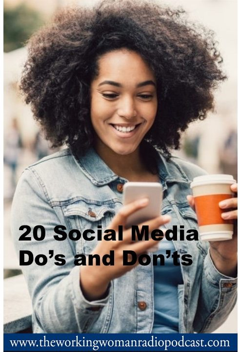 20 Social Media Do's and Don'ts