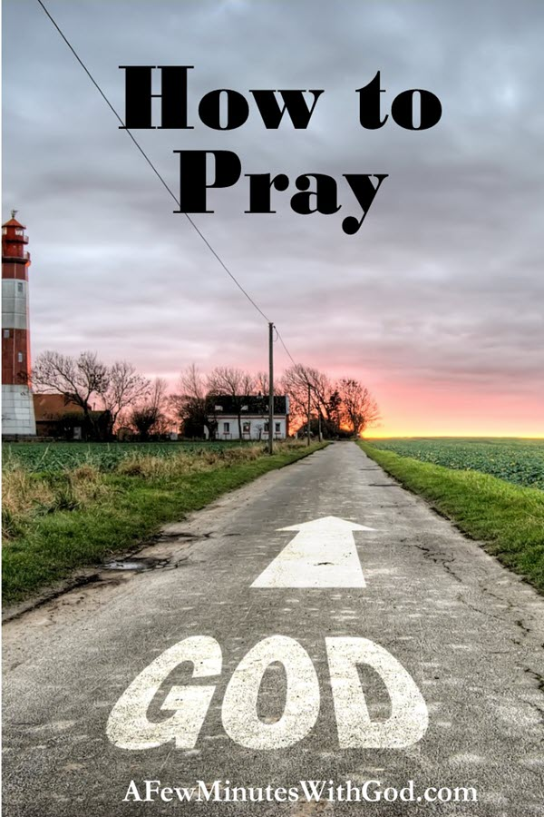 How To Pray | When I think about how to pray sometimes I am at a loss. So, how can I dedicate an entire podcast to this topic? Well, it is a challenge. And the key is the following words, God's will be done... | #christianpodcast #podcast #Christian #prayer #praying