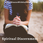Spiritual Discernment |