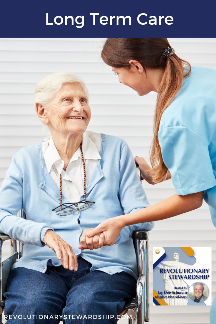 Long Term Care may easily be one of our largest financial expenditures in our lifetime. A person has a 68% chance of needing care to assist them with one or more activities of daily living.