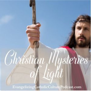 Christian Mysteries What are the Christian mysteries of light? No, this isn't some new-age ideal. This is actually meditation of the active life and ministries of Jesus Christ. It allows us to think about and contemplate the Lord's work on earth. | #Christianpodcast #christianfaith #catholicfaith #luminousmysteries #LifeofJesus #JesusChrist