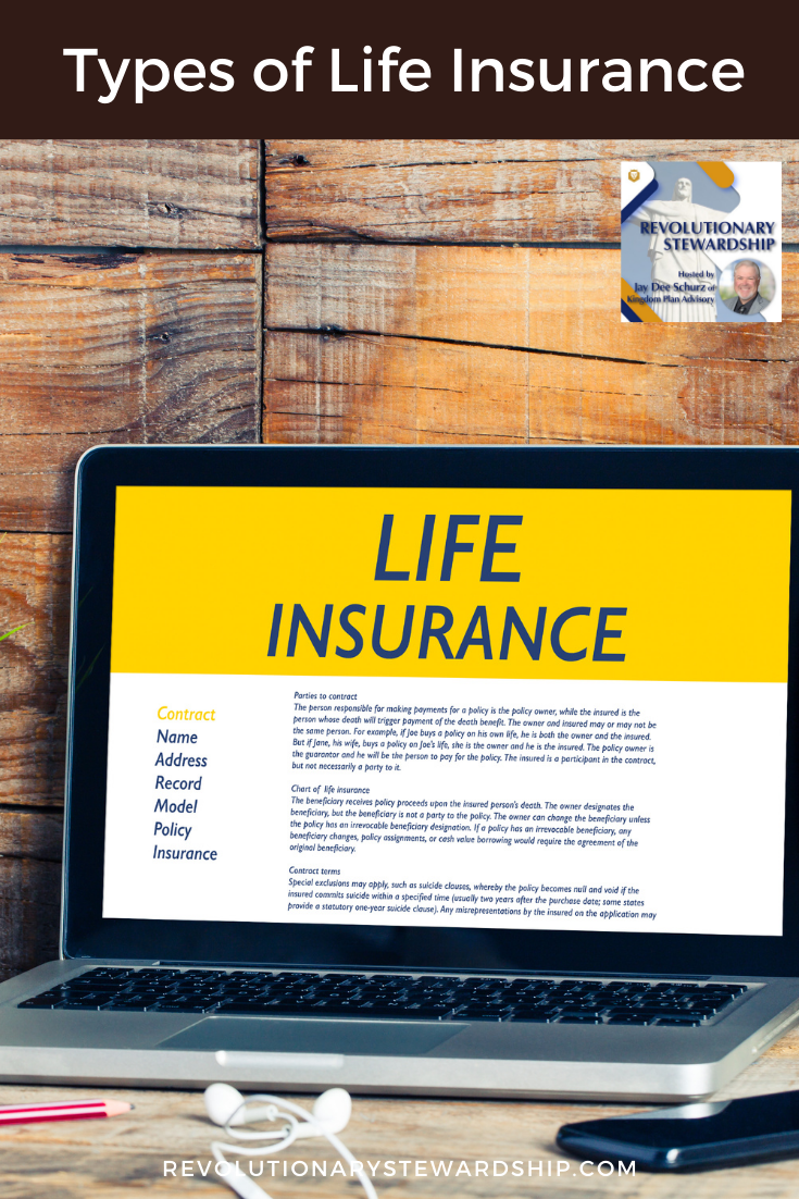 In today's podcast, we discuss the 3 types of Life Insurance.