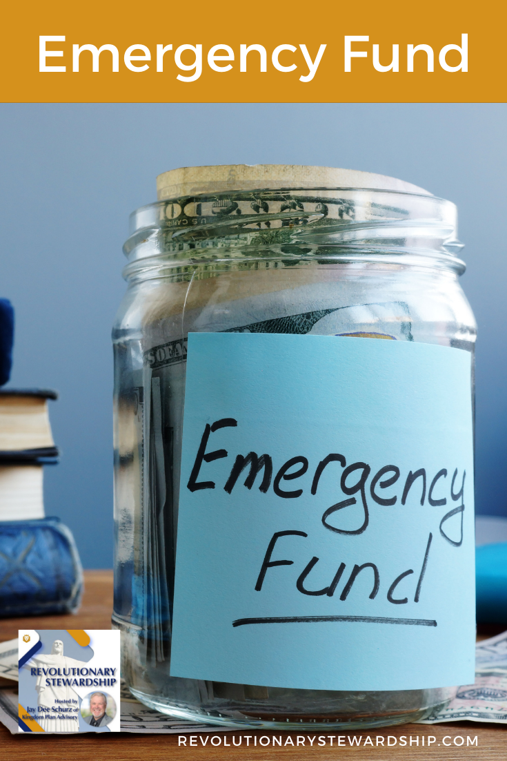 An emergency fund is the 2nd building block of a financial plan and is critical to have in place for a myriad of reasons.