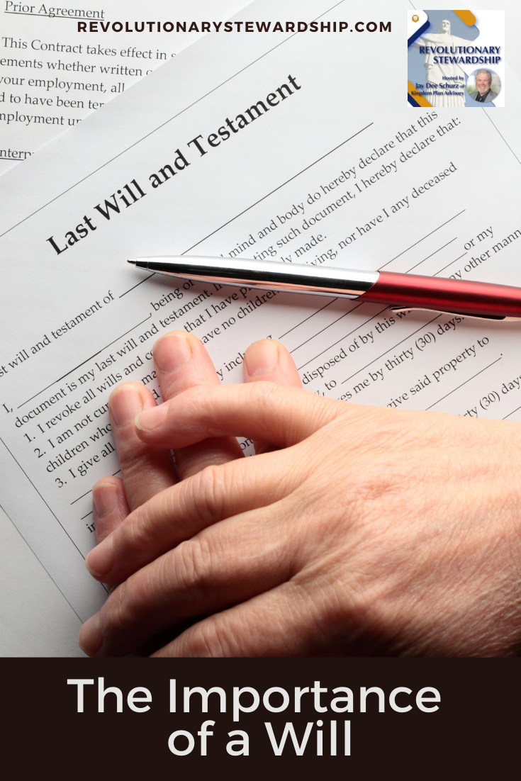 A will is a legal document that sets forth your wishes regarding the distribution of your property and the care of any minor children.
