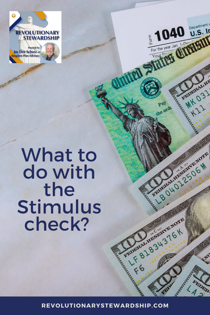 Roth IRA or 401k?  Jay goes into what you can do with your stimulus check to contribute to your retirement.