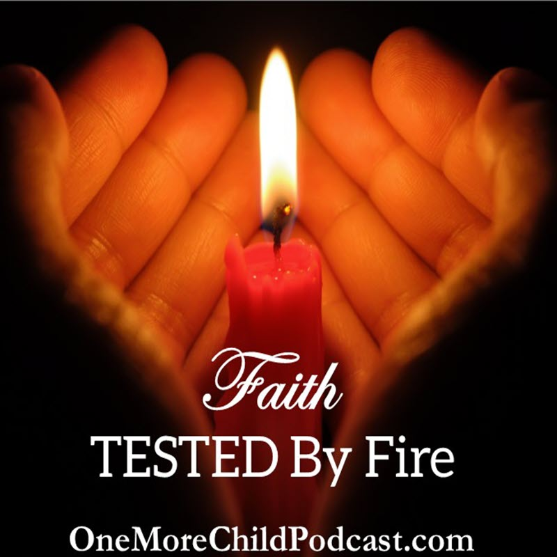 "Faith Tested By Fire | We all want faith, but our faith must be tested. Faith tested by fire withstands as we have seen through the many examples of the goldy mean and women who have gone before us. In this episode, Felice discusses that trials do make us stronger and what we should pray instead of, ""Lord take this cross away."" 